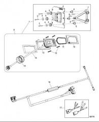 Комплект системы управления дифферентом Active Trim Одинарный двигатель – MerCruiser