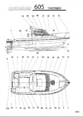 Схема МОДЕЛЬ 605 TIMONIER