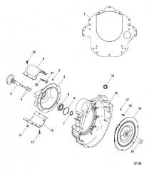 Схема Корпус маховика Карданная передача