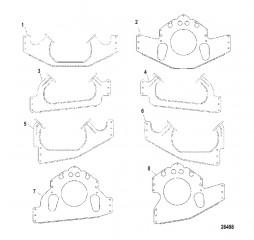 Схема Установочные пластины