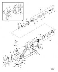 Схема Компоненты универсального шарнира и реверса