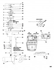 Схема Двигатель для тралового лова в сборе (Модель L52RF / AG52RF) (12 В)
