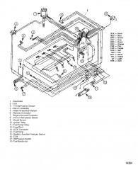 Электрические компоненты (Жгут проводов EFI)