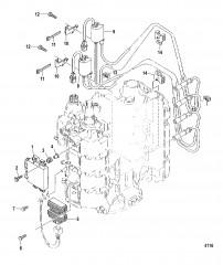 Схема Компоненты системы зажигания