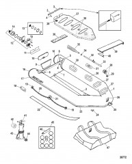 Схема Модели Air Deck (285 Limited – белый)