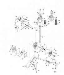 Схема Топливный насос (Электрич.)