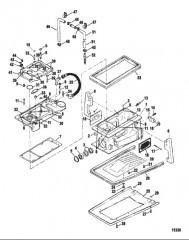 Схема Компоненты корпуса привода
