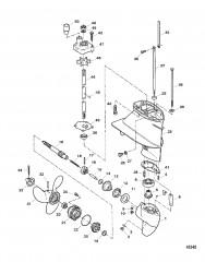 Схема Картер редуктора в сборе