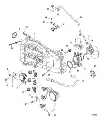 Схема Intake Manifold