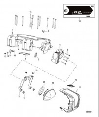 Схема Throttle Body Digital Throttle-Shift