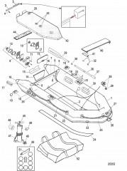 Модели Air Deck (Белый/светло-серый – 2007)