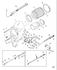 Схема Колоколообразный кожух (Встроенный и высокопроизводительный транец)