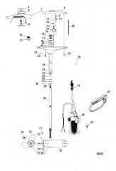 Схема Двигатель для тралового лова в сборе (TR75FBD / TR75L)