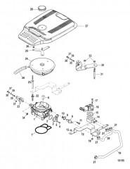 Схема Throttle Body (Mechanical)