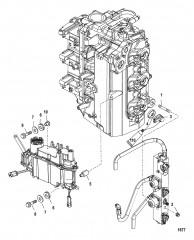 Схема Монтаж паросепаратора/топливной направляющей