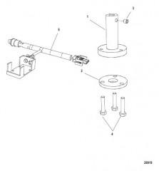 Схема Комплект инструментов для тестирования инжектора непосредственного впрыска (899883A08)