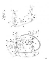 Схема Компоненты топливной направляющей