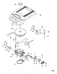 Схема Throttle Body Mechanical