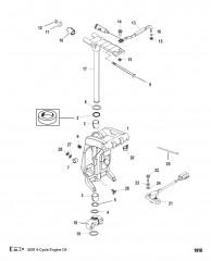 Шарнирный кронштейн и рычаг рулевого механизма (Длинный)