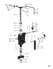 Шарнирный кронштейн (Merc, с/н USA-5464485/AUS-8061769 и ниже)