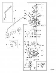 Carburetor 0R676745 and Below