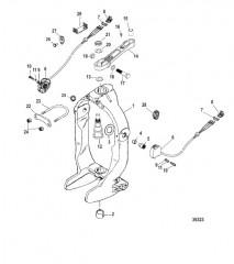 Схема Кольцо кардана и рычаг рулевого механизма AXIUS Gen I