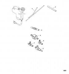 Выносной масляный бак Двигатели Aramark
