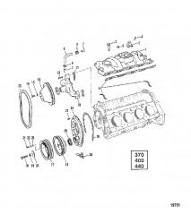 Впускной коллектор и передняя крышка (370/400/440)