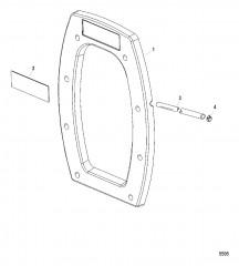 Внутренняя транцевая плита Сухой поддон Six