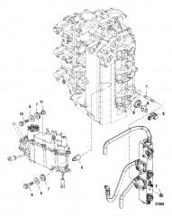 Монтаж паросепаратора/топливной направляющей