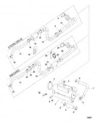 Схема Теплообменник и шланги