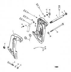Схема Транцевые кронштейны Torque/FleetMaster