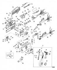 Дистанционное управление – 4000, боковая установка (Без усилителя дифферента)