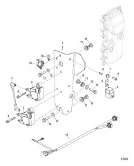 Схема Установка катушки зажигания