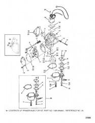 Схема Карбюратор (20/25/JET 20)