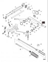 Схема Tiller Handle