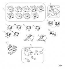 Схема Предохранители и автоматические выключатели
