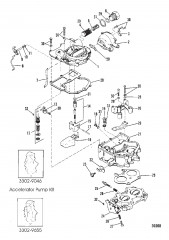 Схема Карбюратор (MerCarb) (185)