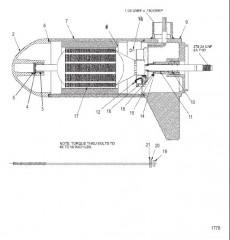 Нижний блок в сборе (35# – с регулировкой скорости до 5) (MSM397052)