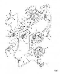 Схема Топливный насос и карбюратор