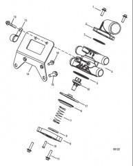 Схема Перепускные клапаны в сборе
