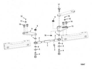 Комплект тяги – сдвоенный (892789Q02 -Q09) 26-36