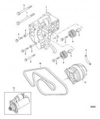 Схема Генератор подключение и установка