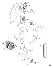 Схема Компоненты набора прокладок (27-861246A05) Капитальный ремонт двигателя