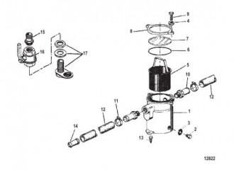 Схема Фильтр забортной воды