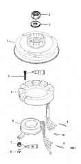Схема Маховик и статор Вручную