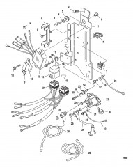 Схема Крепление электромагнита