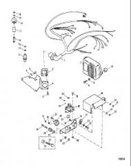 Схема ЭЛЕКТРОПРОВОДКА ЭЛЕКТРИЧЕСКАЯ ЧАСТЬ И ЗАЖИГАНИЕ
