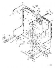 Схема Кольцо кардана (Встроенный транец)