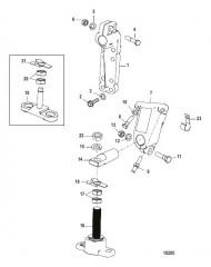 Схема Монтаж трансмиссии и двигателя (HURTH 630)
